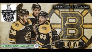 Boston Bruins 2019 Playoff Hype