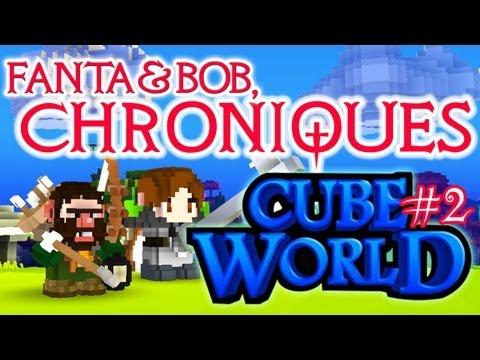 fanta et bob, les chroniques de cube world - ep.2