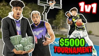 Intense 2HYPE 1v1 Basketball Tournament *IT GOT HEATED*