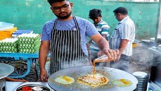 Surat's Most Famous Thunder Omlet   Fanta Loaded Egg Dish   Egg Street Food   Indian Street Food