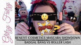 Benefit BADgal Bang Mascara vs Roller Lash Mascara Comparison