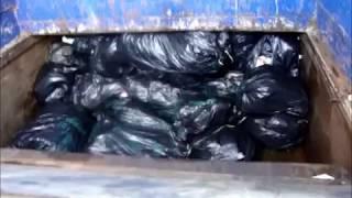 Trash Compactor empty