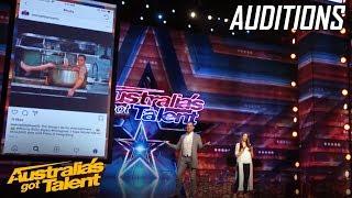 PHOENIX The Mind Guy ASTOUNDS the Judges | Auditions | Australia's Got Talent