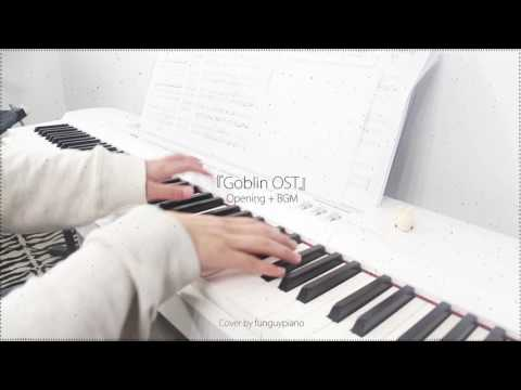 Goblin 도깨비 Opening  Round and Round(Never Far Away)& BGM The Path of the Deceased - piano w/sheet