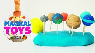 Play Doh Learn Planets And Colors With Nursery Rhymes Song
