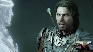 Middle Earth Shadow of War EP2 gunter's Fortress Found out what's the creepy lady is