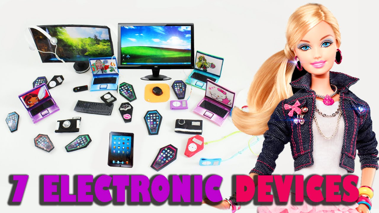 How To Make 7 Personal Electronics For Your Dolls