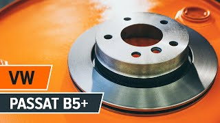 Как да сменим предни спирачни дискове и предни спирачни накладки на VW PASSAT B5+ [Инструкция]