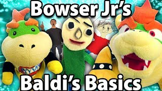 Crazy Mario Bros - Bowser Junior's Baldi's Basics