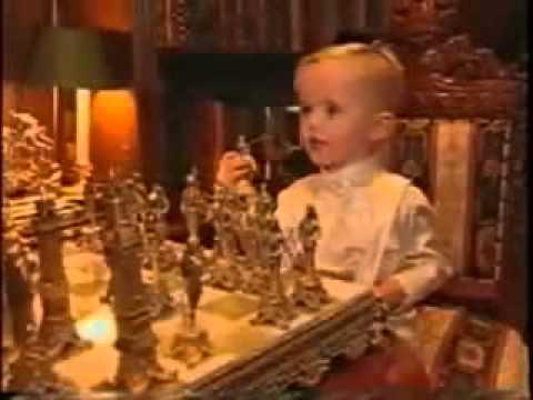 Prince Michael Jackson playing chess with Michael at ...