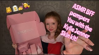 [ASMR] BFF Pampers You With The Kylie Jenner Skin Kit...