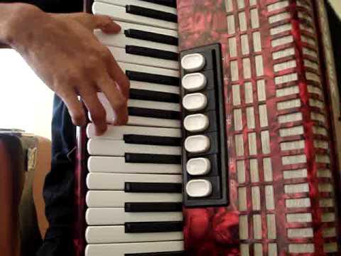 CRUZ DE MADERA -ACORDEON PIANO-ERICK LUNA