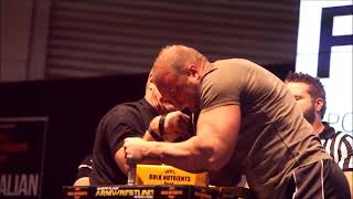 can strength athletes beat devon larret and other pro armwrestlers???