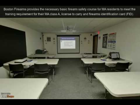 firearms safety course ma - Boston Firearms Training Center