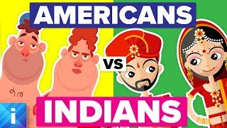 Average American vs Average Indian - How Do They Compare? People Comparison