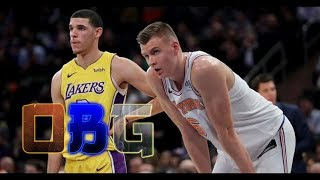 Knicks Full Game Highlights vs Lakers (12/12/17) L.A. & Lonzo FALL In NYC!