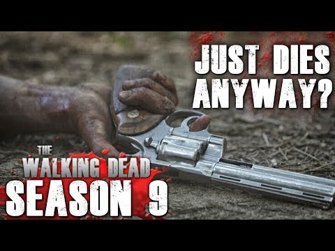 The Walking Dead Season 9 Episode 5 - Hallucinates But Just Dies Anyway?