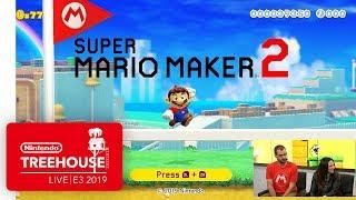 Super Mario Maker 2 Gameplay Pt. 1 - Nintendo Treehouse: Live | E3 2019