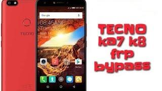 Bypass google account TECHNO phone N 7 0 - AK 10