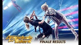 O.M.G! Lindsey Stirling + Brian King Joseph + Zurcaroh + Duo Transcend | America's Got Talent 2018