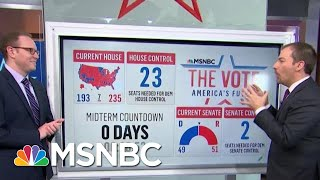 Key House Races To Watch On Election Night | MTP Daily | MSNBC