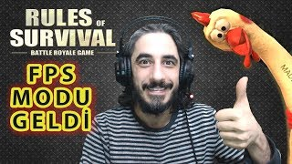 FPS MODU GELDİ - RULES OF SURVIVAL