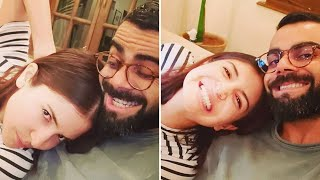 Anushka Sharma and Virat Kohli share their GOOFY selfies..