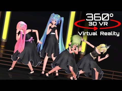 360 3D 4K | MMD Bad?End?Night ?VR?