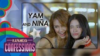 Kapamilya Confessions with Yam Concepcion and Niña Dolino
