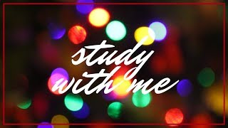 Study with me ▸ 30 minutes in real time | Christmas Holiday Edition | it's waldorf