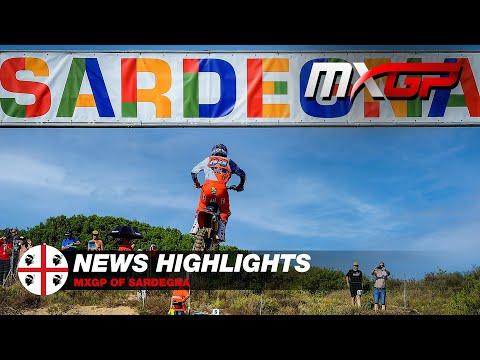 NEWS Highlights - MXGP of Sardegna 2021 #Motocross