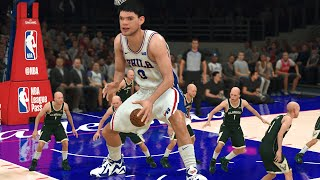 One 10 Foot 40 Overall vs Fifteen 5 Foot 99 Overall Players | NBA 2K21