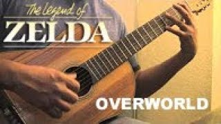 Legend of Zelda – Overworld Theme (Classical Guitar)