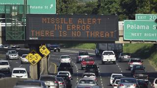 Hear police and dispatchers in Hawaii as false ballistic missile alert is sent to residents
