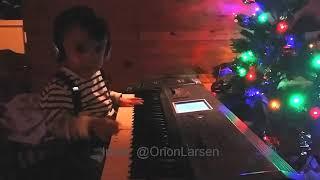 "2 year old singing ""baby"""