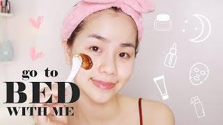 Chăm Sóc Da Buổi Tối ♡ Nighttime Skincare Routine ♡ Quin