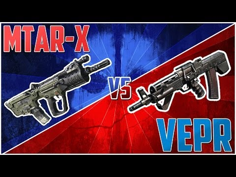 "COD Ghosts - ""MTAR-X VS VEPR"" - The Best SMG (Call Of Duty Ghosts Breakdown) - Smashpipe Games"
