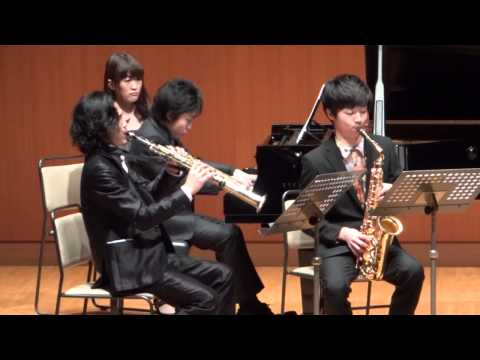 Robert Schumann Klavierquintett op.44 1mov/Saxophone Yo Matsushit