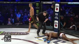 Raymond Daniels Delivers Spectacular Knockout at Bellator Birmingham - MMA Fighting