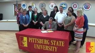 'Pitt State receives Laura Bush 21st Century Library Grant