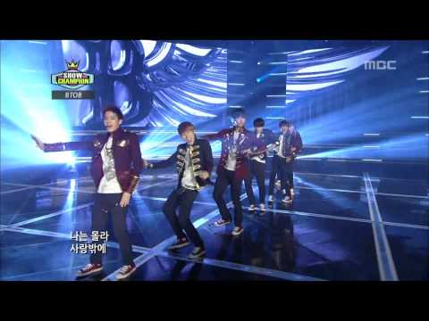 BTOB - I only know love, 비투비 - 사랑밖에 난 몰라, Show Champion 20121127