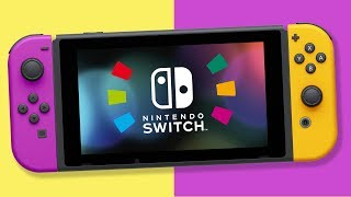 NEW Nintendo Switch Revealed with HUGE Battery Life & New Joy-Con Colors!