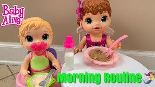Baby Alive Mermaid Morning Routine With New baby Mermaid