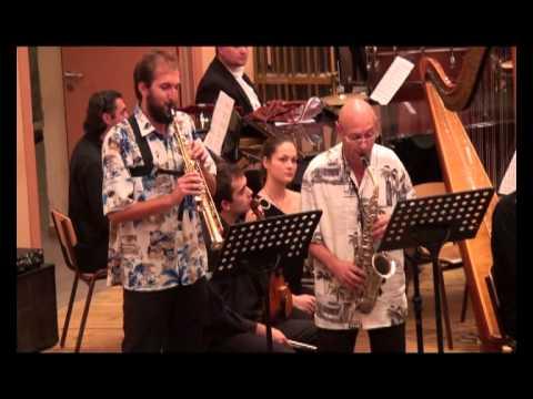 Vasil Belezhkov - 'Bossa Copa' for saxophone quartet and symphonic orchestra