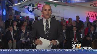 NBC News Fires Today Show Co-Host Matt Lauer