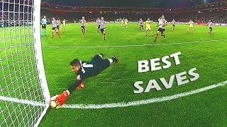 Legendary Goalkeeper Saves in Football!