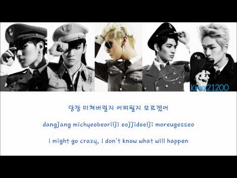 SHINee - Symptoms [Hangul/Romanization/English] Color & Picture Coded HD