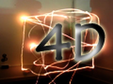 Dynamic Light Painting 4D ----  Composition 1