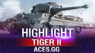 Королевский Тигр [Тигр-2] в World of Tanks на карте Хайвей в
