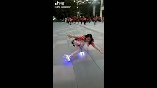 Đẳng cập trượt patin gọi là thượng thừa - tik tok Trung Quốc